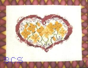Country Garden Stitchery - Autumn Posies - Cross Stitch Pattern