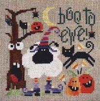 Barbara Ana Designs - Boo To Ewe - Cross Stitch Pattern