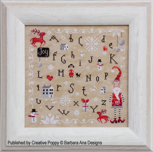 Barbara Ana Designs - Christmas Joy - Cross Stitch Pattern