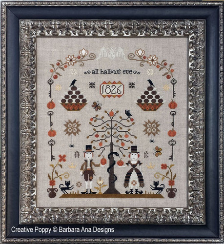 Barbara Ana Designs - The Rampant Cats Sampler - Cross Stitch Pattern