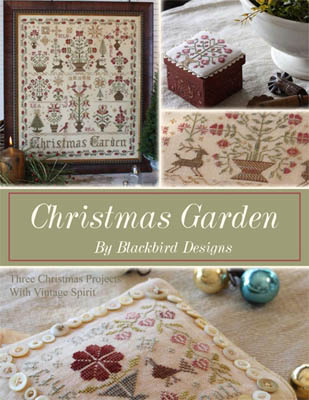 Blackbird Designs - Christmas Garden - Cross Stitch Pattern