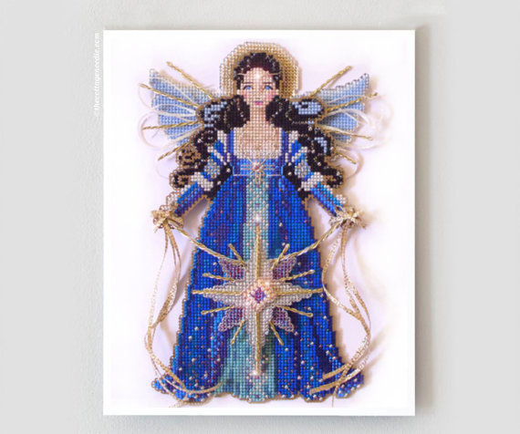 Brooke's Books - Spirit of The Christmas Star - Cross Stitch Chart Pack