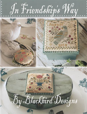 Blackbird Designs - In Friendship's Way - Cross Stitch Booklet-Blackbird Designs - In Friendships Way - Cross Stitch Booklet,