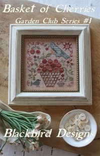 Blackbird Designs - Garden Club Series Part 1 - Basket of Cherries