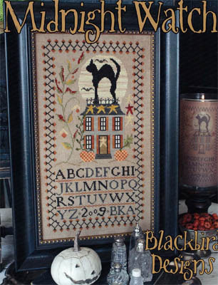 Blackbird Designs - Midnight Watch - Cross Stitch Pattern