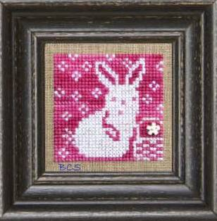 Bent Creek - Pink + White - Cross Stitch Pattern