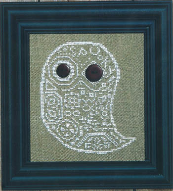 Bent Creek - Quaker Ghost - Cross Stitch Pattern