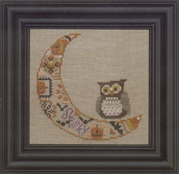 Bent Creek - Quaker Moon - Cross Stitch Pattern