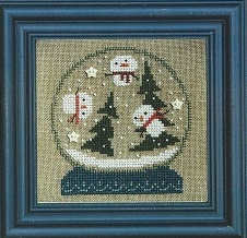 Bent Creek - Shake It Up Globe Kit-Bent Creek - Shake It Up Globe, snowglobe, cross stitch kit,