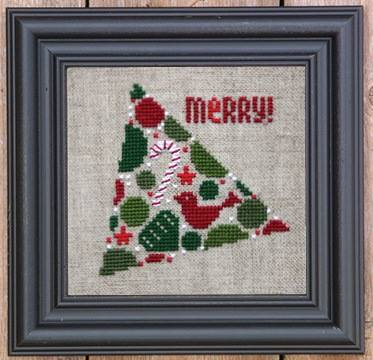 Bent Creek - Christmas Tree of Ornaments - Cross Stitch Kit