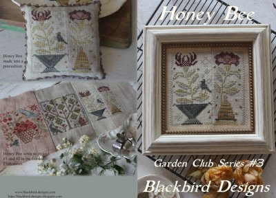 Blackbird Designs - Garden Club Series Part 03 - Honey Bee