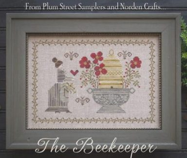 Plum Street Samplers - The Beekeeper - Limited Edition Cross Stitch Kit