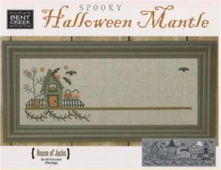 Bent Creek - Spooky Halloween Mantle - Part 1 of 3 - House of Jacks - Cross Stitch Kit