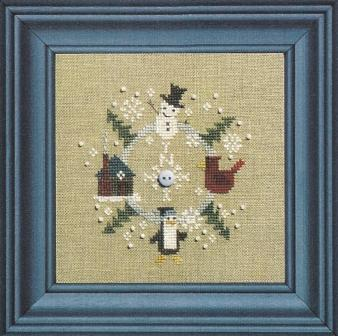 Bent Creek - Go North! to winter - Cross Stitch Pattern