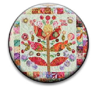 Stitch Dots - Lollypop Trees Needle Nanny-Stitch Dots - Lollypop Trees Needle Nanny, magnet, needles, sewing, cross sttich