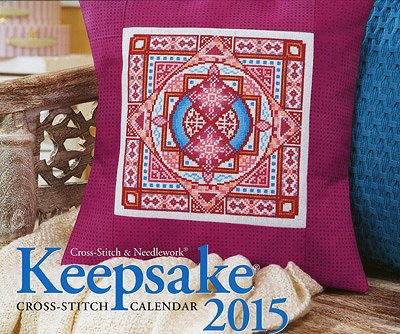 Cross Stitch & Needlework - Keepsake Calendar 2015