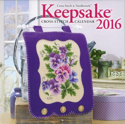 Cross Stitch & Needlework Keepsake Calendar 2016