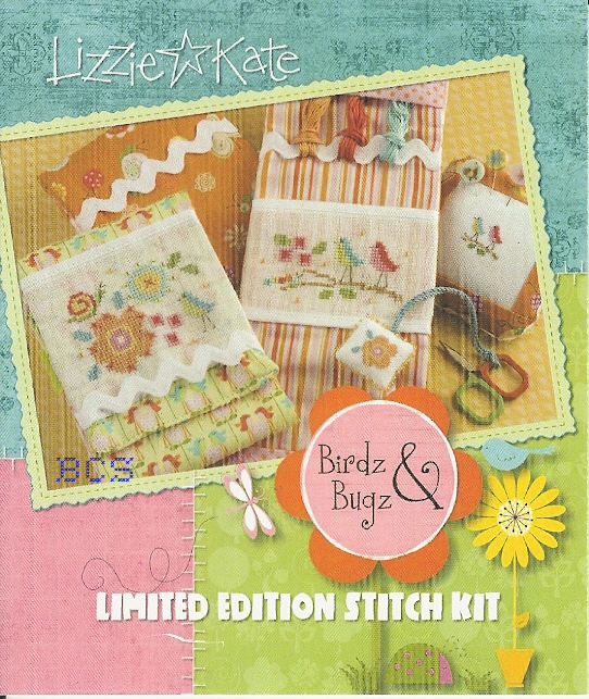 Lizzie Kate - Birdz & Bugz - Limited Edition Stitch Kit