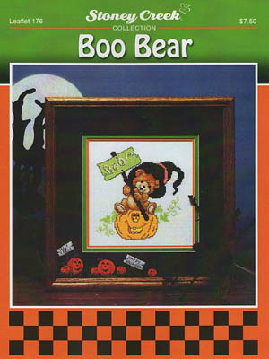 Stoney Creek - Boo Bear - Cross Stitch Pattern