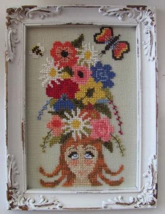 By The Bay Needleart - Think Spring - Cross Stitch Pattern
