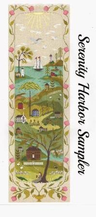 By The Bay Needleart - Serenity Harbor Sampler Series - Part 1 of 12 - Cross Stitch Pattern