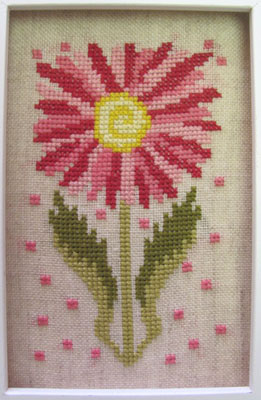 By The Bay Needleart - Funky Flowers - Cassandra - Cross Stitch Chart