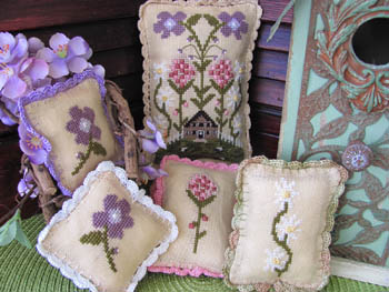 By The Bay Needleart - My Secret Garden - Cross Stitch Patterns