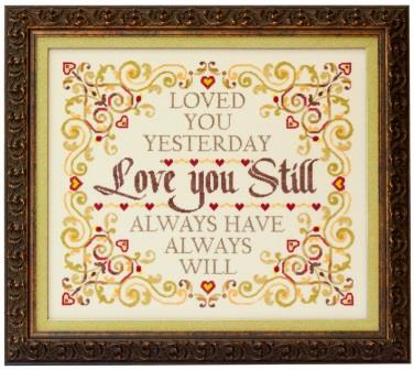 Glendon Place - Love You Still-Glendon Place - Love You Still, Valentines Day, love, marriage, cross stitch