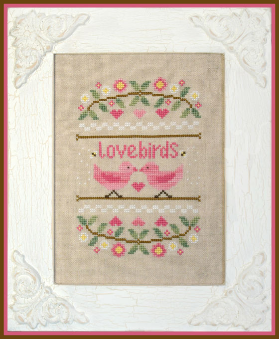 Country Cottage Needleworks - Love Birds