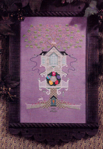 Cross-Eyed Cricket - A House in the Wood - Cross Stitch Pattern