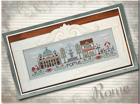 Country Cottage Needleworks - Afternoon in Rome