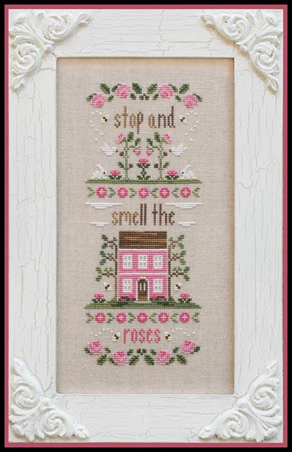 Country Cottage Needleworks - Stop and Smell the Roses