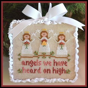 Country Cottage Needleworks - Classic Collection - 1 of 12 - Angels - Cross Stitch Pattern