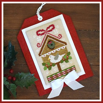 Country Cottage Needleworks - Classic Collection - 9 of 12 - Christmas Birdhouse