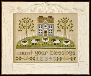 Country Cottage Needleworks - Count Your Blessings - Cross Stitch Pattern