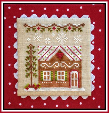 Country Cottage Needleworks - Gingerbread Village - Part 010 - Gingerbread House 7