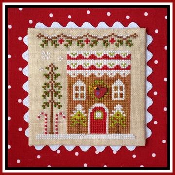 Country Cottage Needleworks - Gingerbread Village - Part 06 - Gingerbread House 4