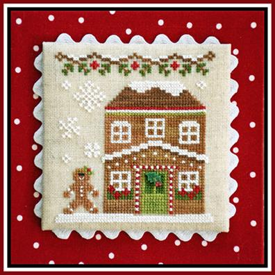 Country Cottage Needleworks - Gingerbread Village - Part 08 - Gingerbread House 5