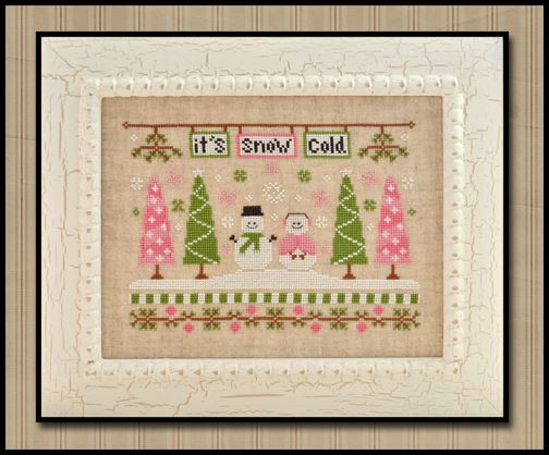 Country Cottage Needleworks - It's Snow Cold - Cross Sttich Pattern