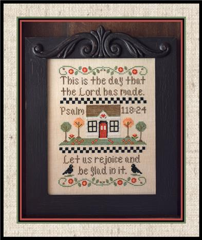 Country Cottage Needleworks - Let Us Rejoice - Cross Stitch Pattern