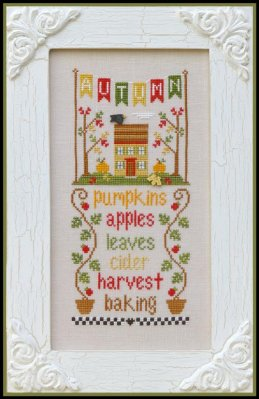 Country Cottage Needleworks - Seasonal Celebrations - Part 3 of 4 - Autumn
