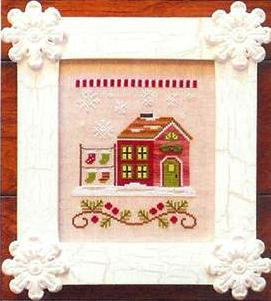 Country Cottage Needleworks - Santa's Village - Part 05 of 12 - Santa's Stocking Store - Cross Stitch Pattern