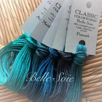 CLASSIC COLORWORKS HAND DYED  SILK FLOSS