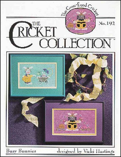 Cross-Eyed Cricket - Busy Bunnies - Cross Stitch Patterns