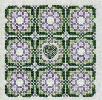 Elizabeth's Designs - Celtic Heart - Cross Stitch Kit