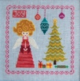 Cottage Garden Samplings - Christmas Angel - Cross Stitch Pattern