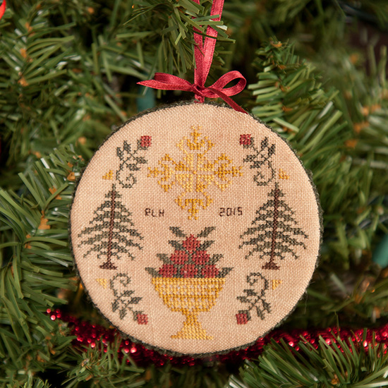 Cherished Stitches - A Holiday Welcome - Cross Stitch Pattern