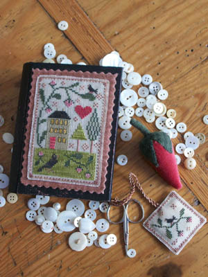 Chessie & Me - Berry House Stitch Book - Cross Stitch Pattern