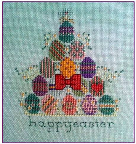 Carol Manning Designs - Egg Hunt - Cross Stitch Pattern