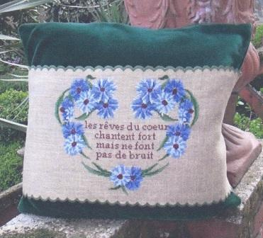 Blu Cobalto - Cornflowers - Cross Stitch Pattern
